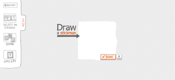 draw a stickman menu