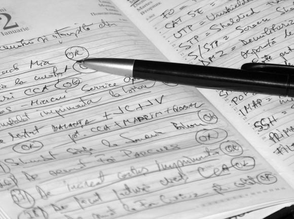 tareas agenda