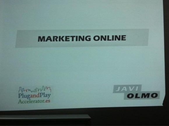 Marketing Online mentor plug and play valencia javi olmo
