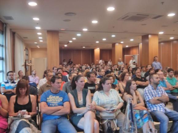 Javi Olmo Entiak Evento CMUA Valencia 2013