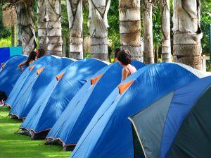 efecto campamento